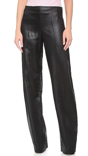 Narciso Rodriguez Атласные брюки