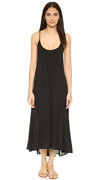 9seed Seychelles Cover Up - Black