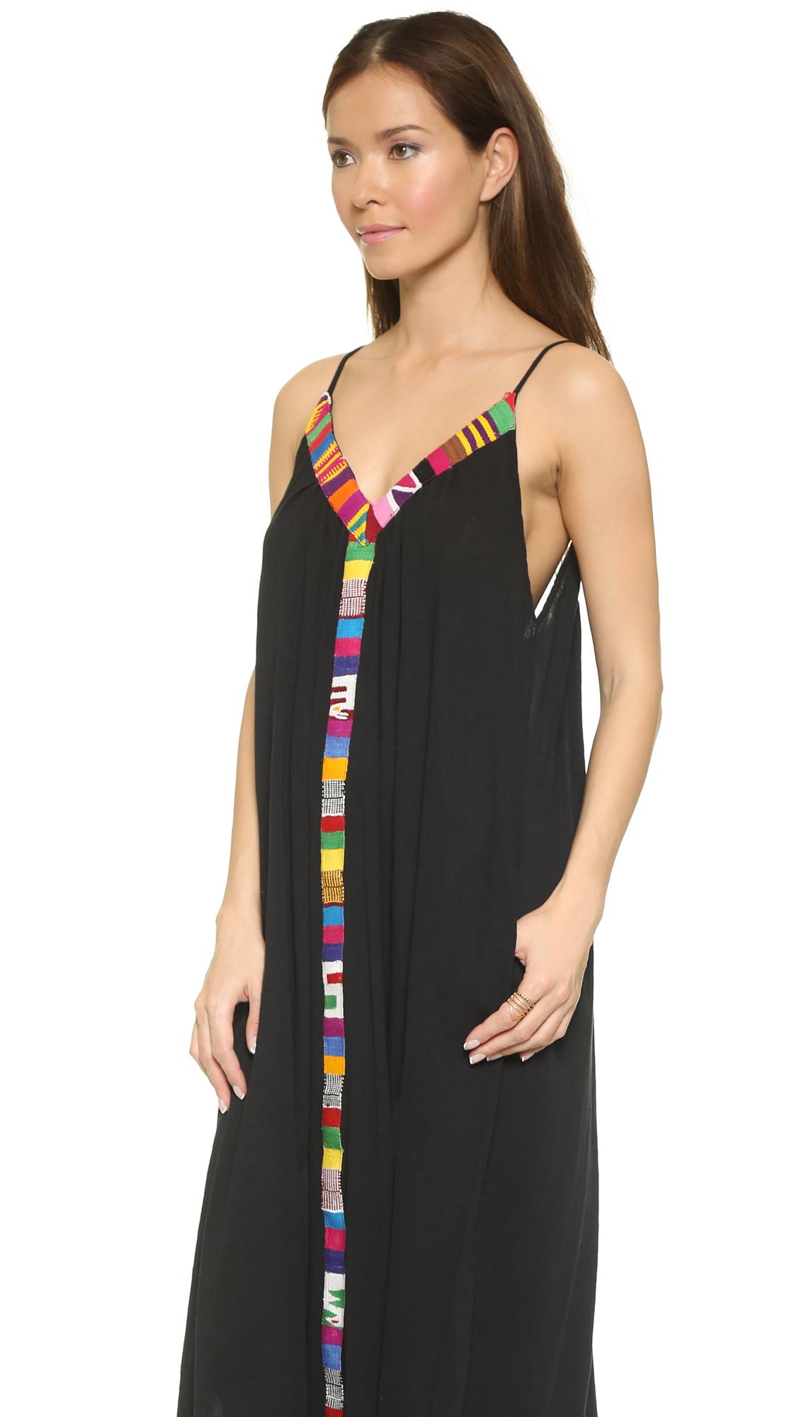 c41735b27a 9seed Portofino Trim Cover Up Dress | SHOPBOP