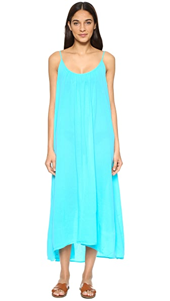 9 seed tulum maxi cover up