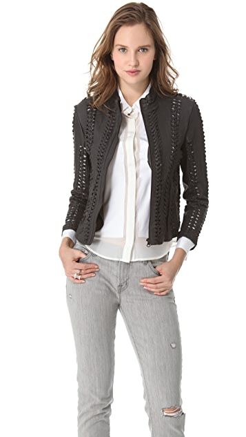 NSF Leilani Leather Jacket