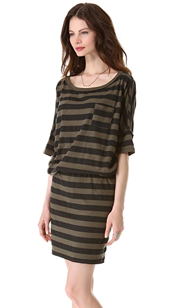 NSF Bette Striped Dress
