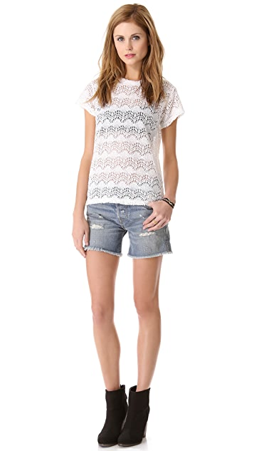 NSF Annette Lace Tee