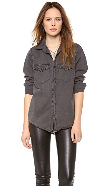 NSF Lesli Button Down Shirt