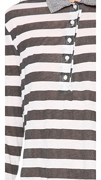 NSF Jimmy Striped Polo