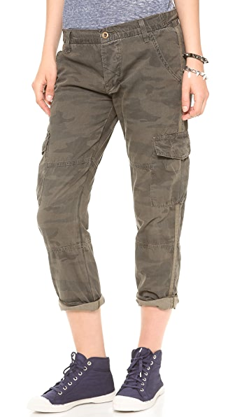 NSF Basquiat Camo Pants