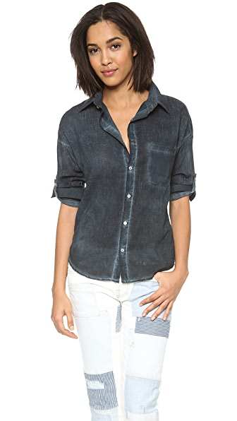 NSF Rhodes Voile Button Down