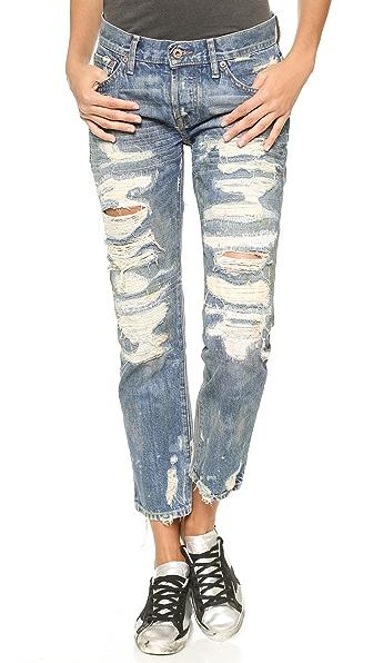 NSF Beck Destroyed Boyfriend Jeans
