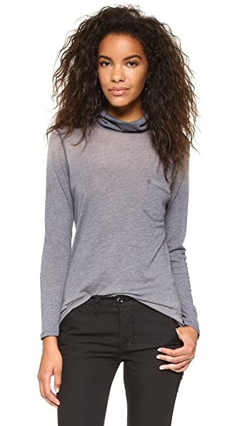 NSF Mikey Turtleneck Long Sleeve Tee