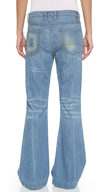 NSF Burroughs Flare Jeans