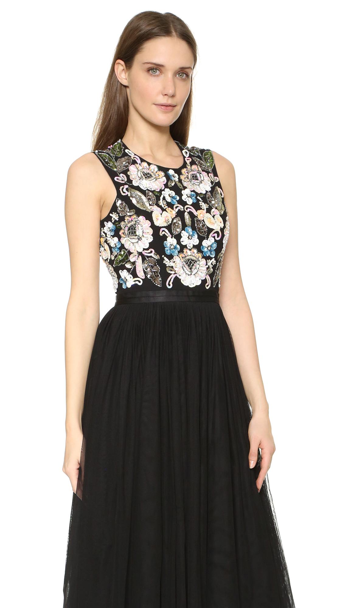 Needle & Thread Oriental Garden Midi Dress | SHOPBOP