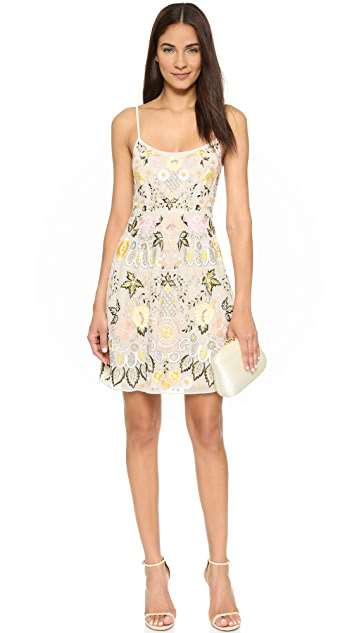 Needle & Thread Embroidery Floral Prom Dress