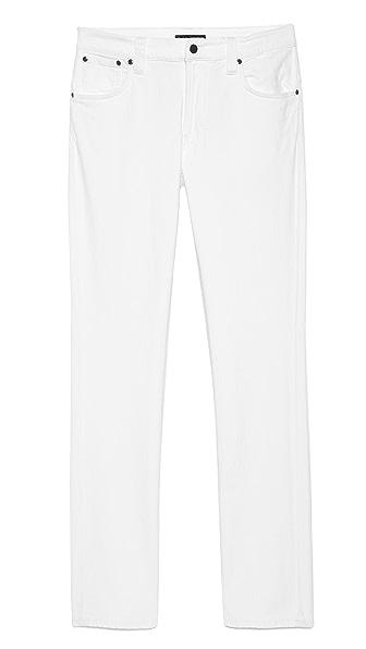 Nudie Jeans Co. Thin Finn Org White Jeans