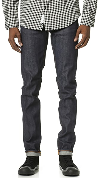 Nudie Jeans Co. Thin Finn Dry Selvage Jeans