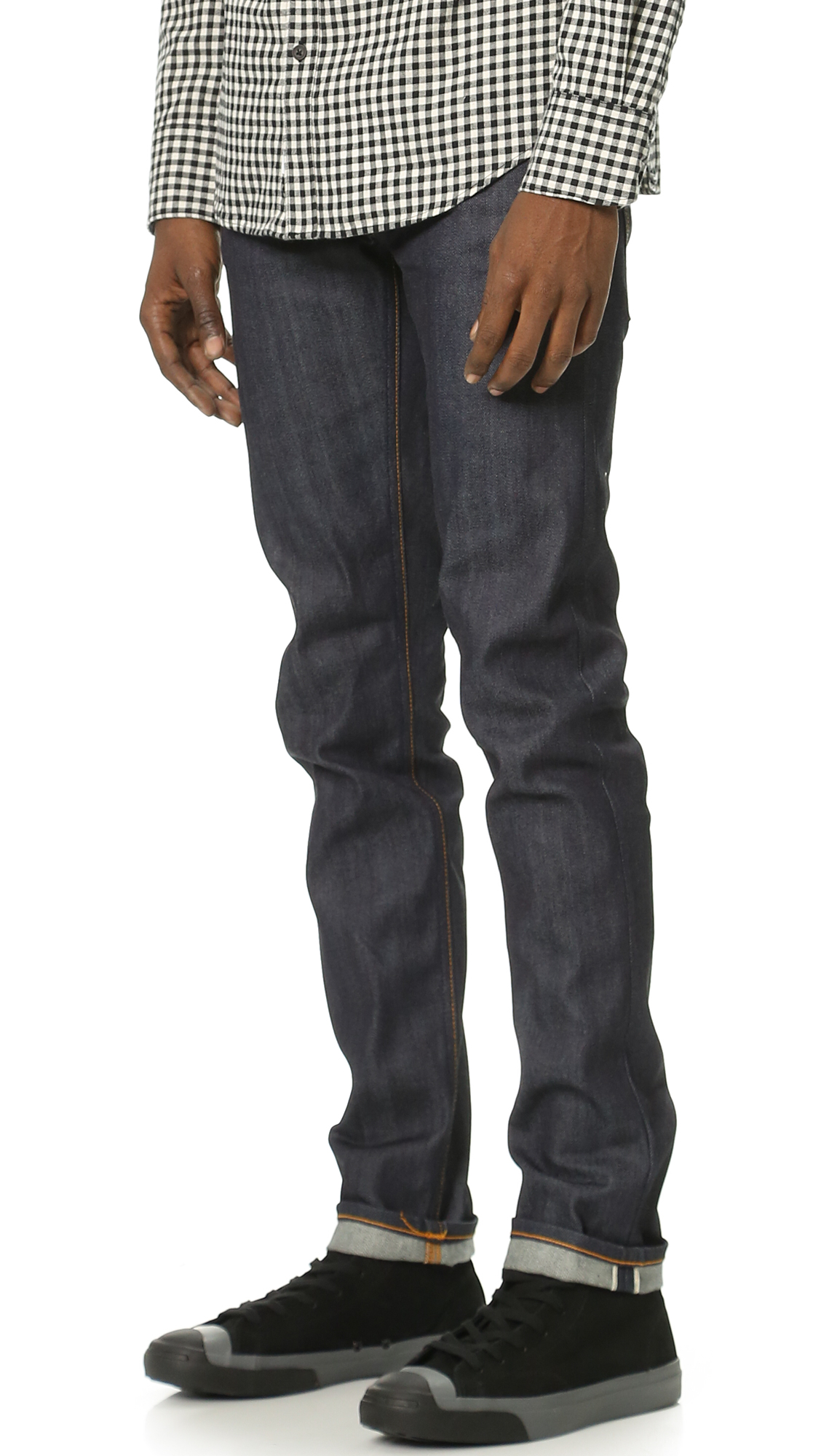 Nudie Jeans Co. Thin Finn Dry Selvage Jeans  b3b11bac0834