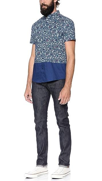 Native Youth Floral Print Shirt