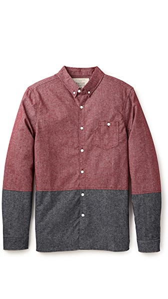Native Youth Brushed Sport Shirt