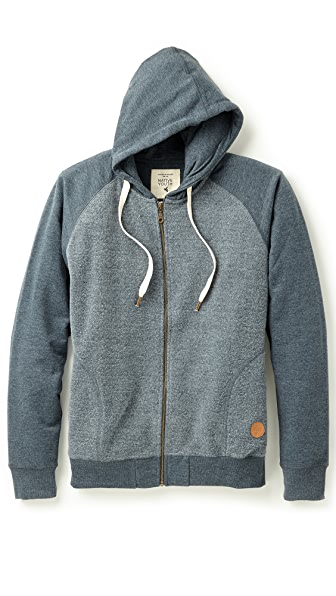 Native Youth Reverse Fleece Hoodie