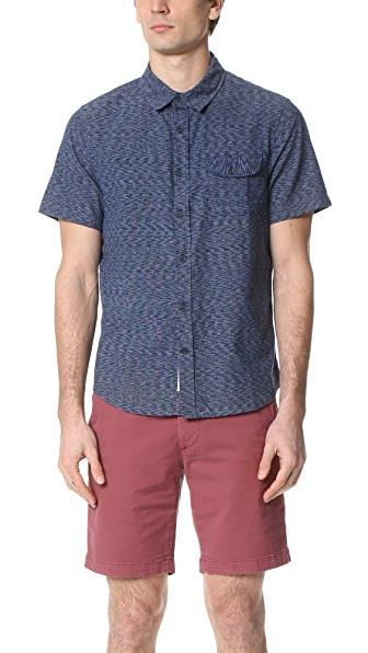 Native Youth Soundwave Short Sleeve Shirt