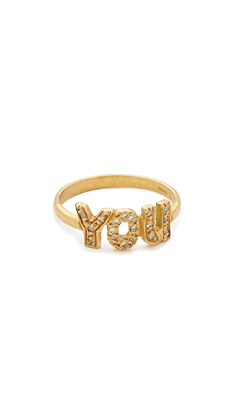 Natasha Zinko 'You' Diamond Ring