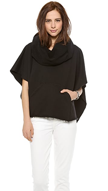 Oak Funnel Neck Poncho
