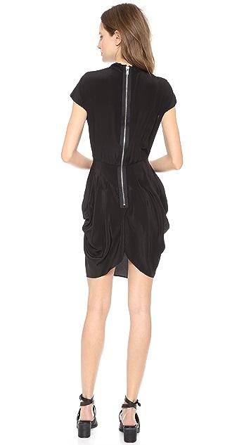 Oak Zip Back Dress