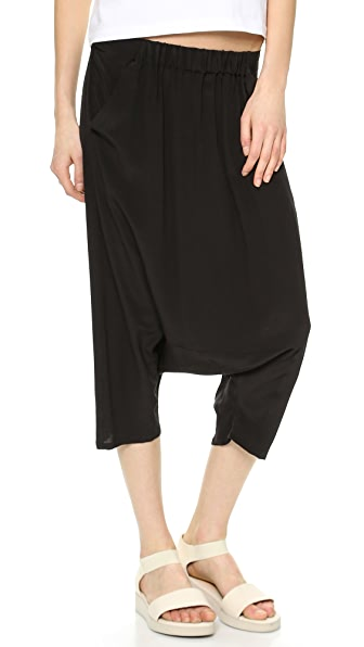 Oak Square Gusset Cropped Pants