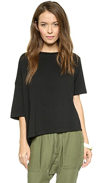 Oak Drop Shoulder Tee