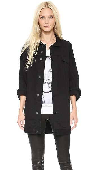 Oak Drop Shoulder Jean Jacket