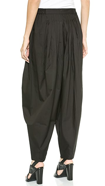 Oak Karma Pleated Pants