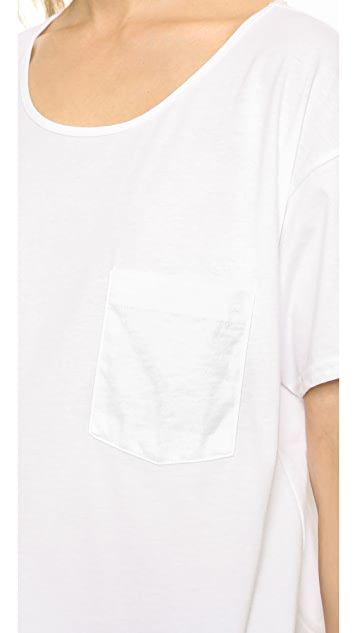 Oak Slouch Pocket Tee
