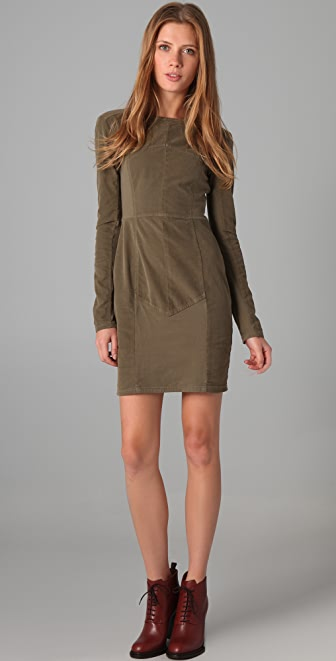 Obakki Emma Long Sleeve Dress