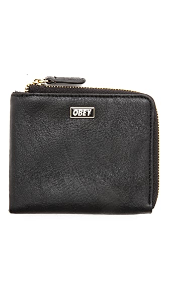 Obey Drexel Zip Wallet