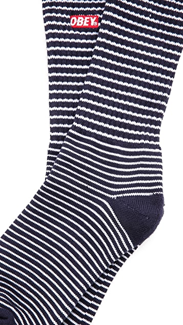 Obey Quality Dissent Socks