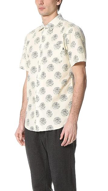 Obey Mulholland Short Sleeve Shirt