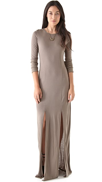 O by Kimberly Ovitz Anura Slit Maxi Dress