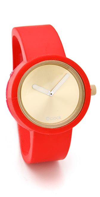 O'Clock Gold Face Watch