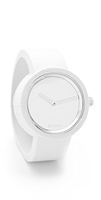 O'Clock Mirror Face Watch