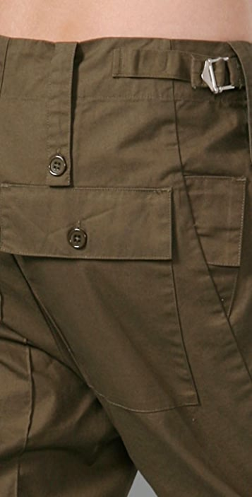 Of Two Minds Reconstructed Army Pants