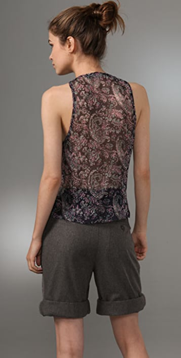 Of Two Minds Elise Paisley Tank