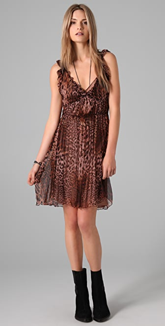 Of Two Minds Daphine Leopard Print Dress