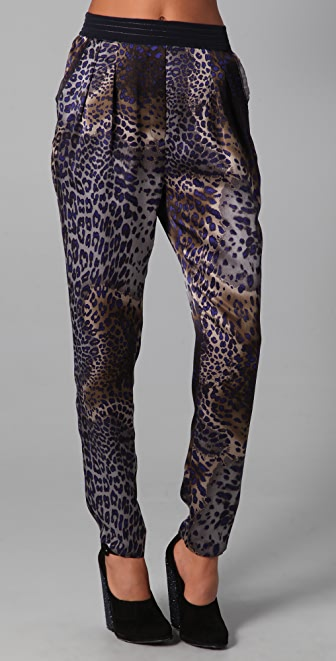 Of Two Minds Palma Leopard Print Pants