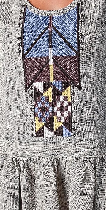 Of Two Minds Drea Tribal Dress