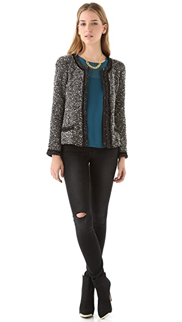 Of Two Minds Jenni Boucle Jacket
