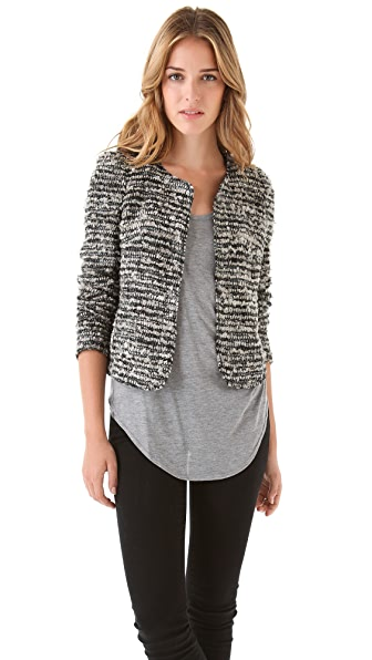 Of Two Minds Junie Basket Weave Jacket