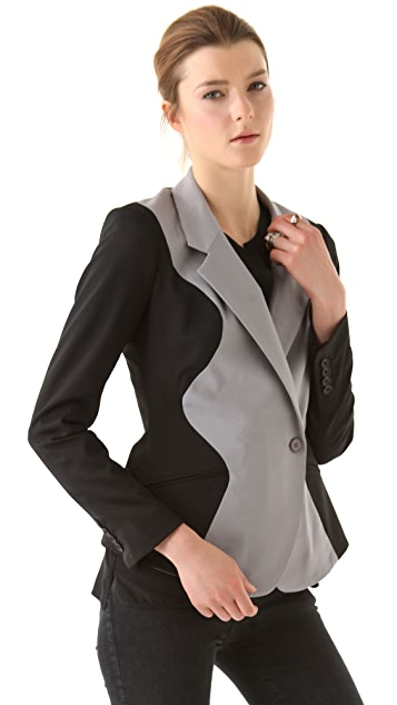Ohne Titel Two Tone Jacket