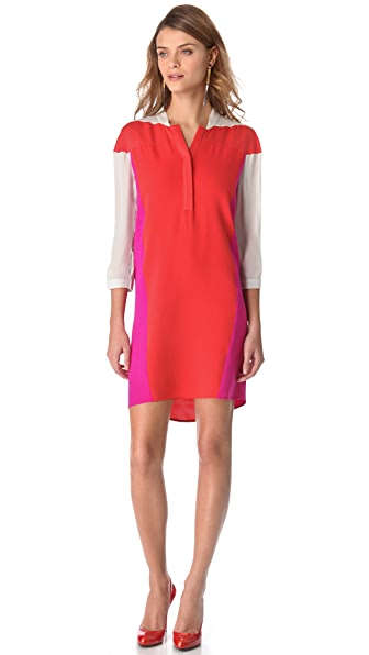 Ohne Titel Colorblock Shirtdress