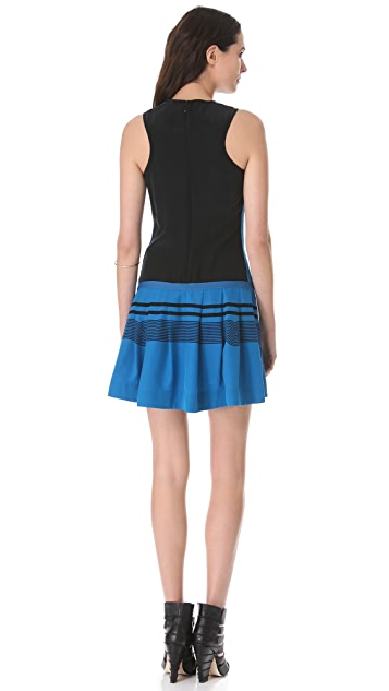 Ohne Titel Stripe Sleeveless Dress