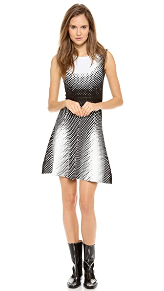 Ohne Titel Point Jacquard Sleeveless Dress