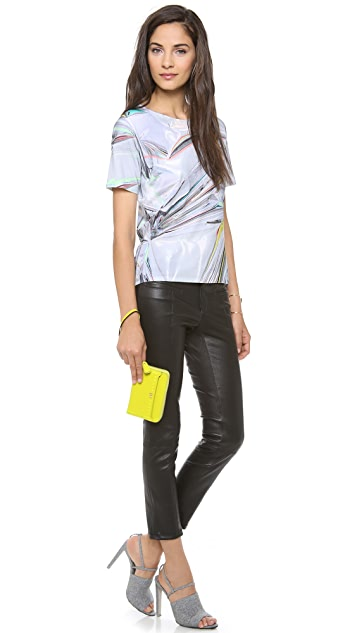 Ohne Titel Reflective Printed Tee